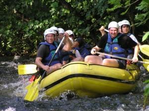 Rafting Kroatien