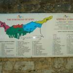 Kort fortet i Knin