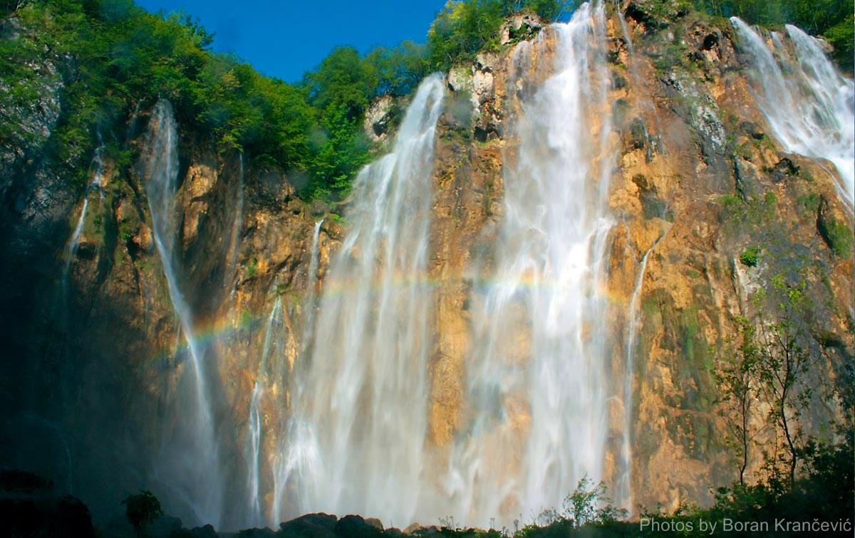 Vandfald Plitvice