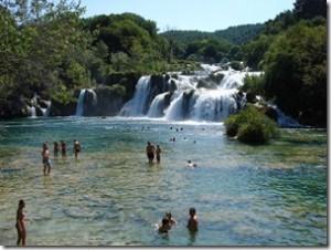 Krka Vandfaldene i Kroatien