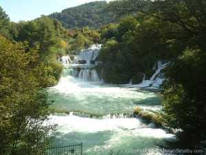vandfald Krka
