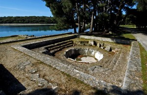Brijuni romers ruin
