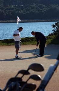 Golf paa NP Brijuni