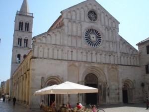 Zadar sankt Anastasia Katedralen