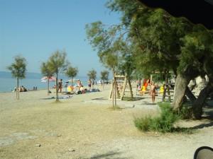 Camping Galeb strand og legeplads