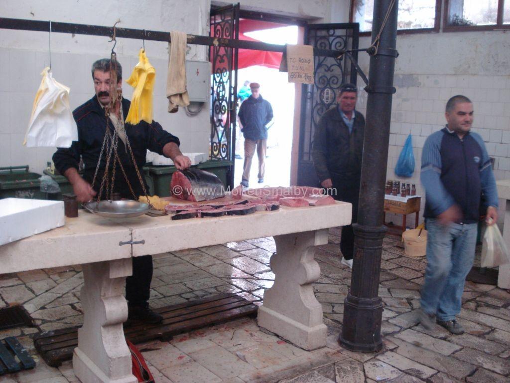 Fiske markedet i Split