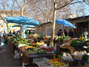Grønsagsmarkedet Split - Stari Pazar 1