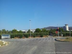 Lufthavnen i Split