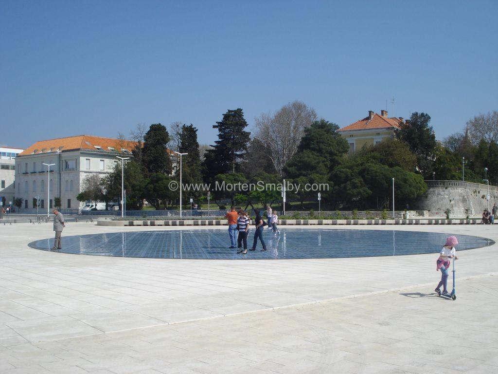 Zadar - en hilsen til solen