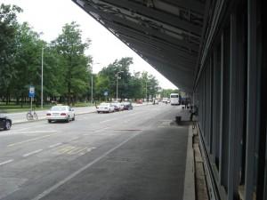 Zagreb Lufthavn foran terminalen