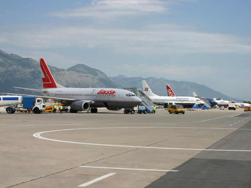 Fly parkeret i Dubrovnik