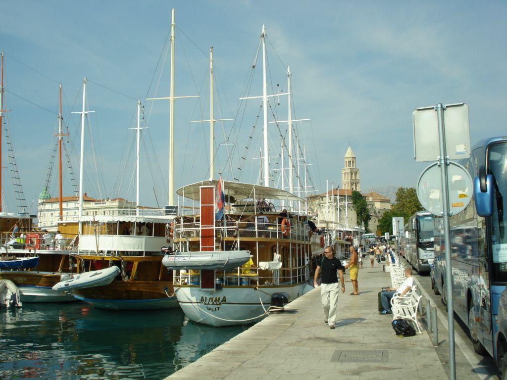 Krydstogstskibe i Split