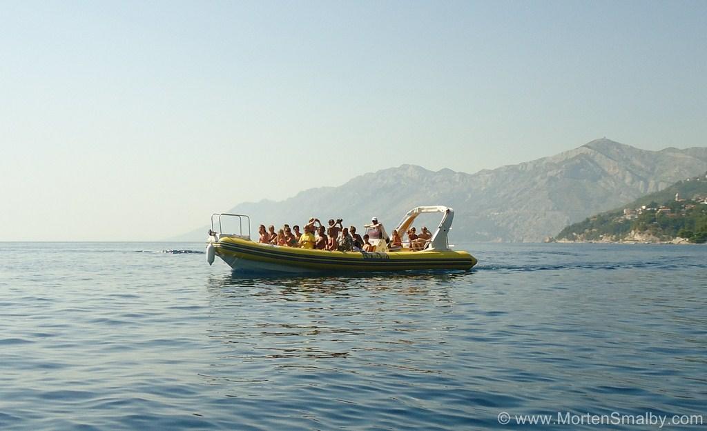 Moterbåd Kroatien