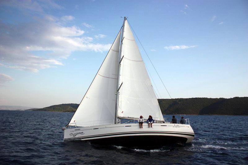 Sejle i Kroatien