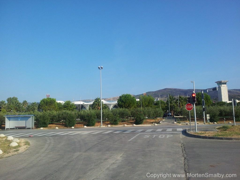 Busstop Lufthavn Split