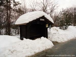Bus stop Plitvice
