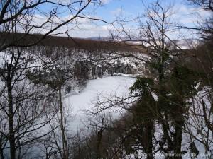 Frosen sø Plitvice