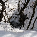 grotte lukket pga. sne