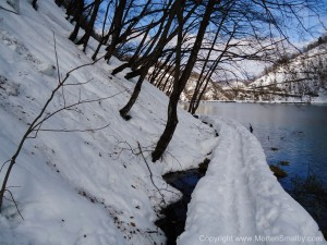 sne i Plitvice