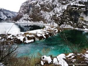 Turkis sø plitvice