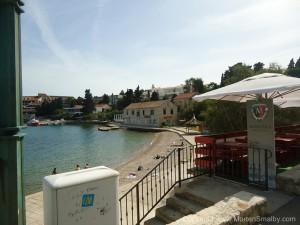 Korcula by strand