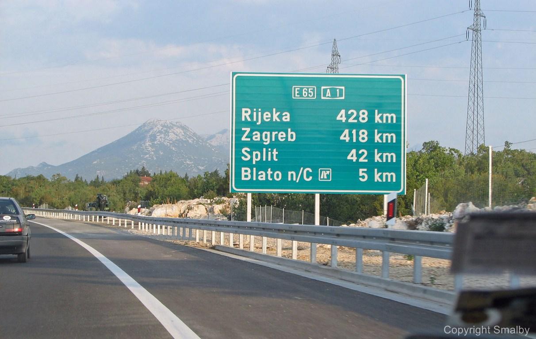 Vej til Rijeka