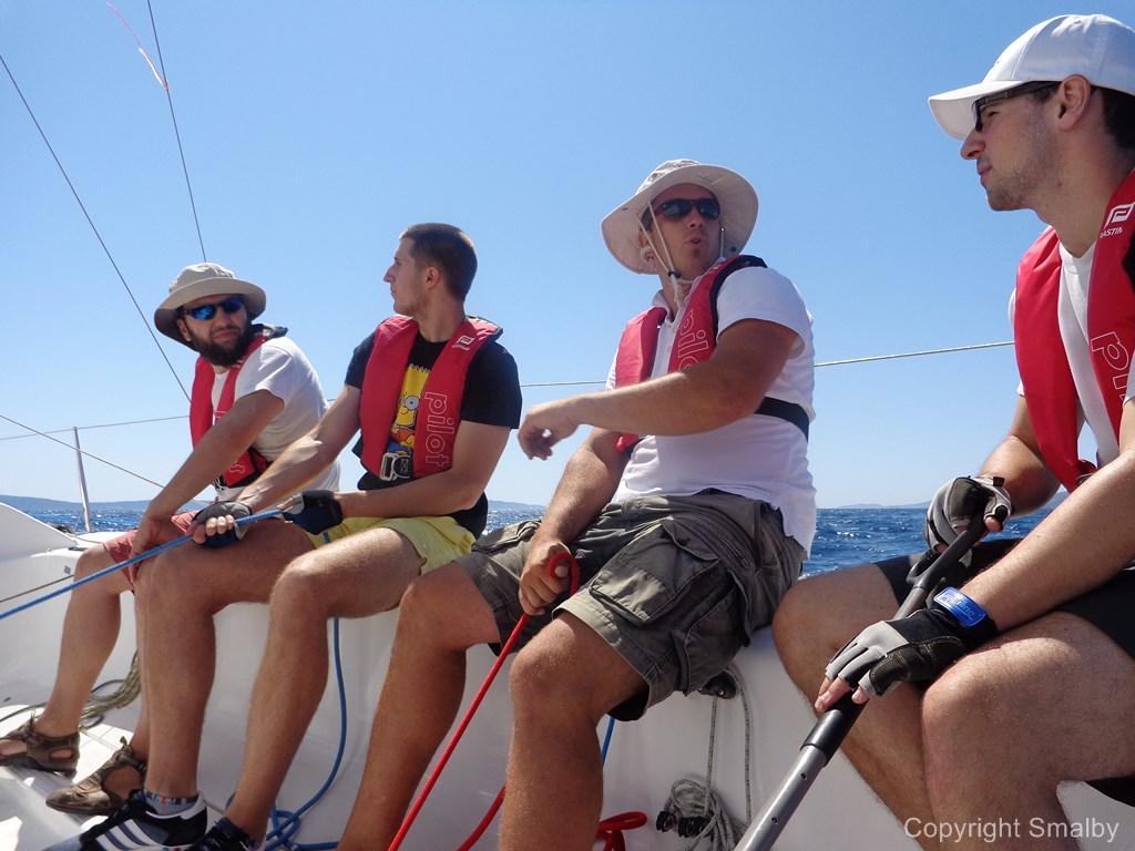 Deltagerne sejlerskole