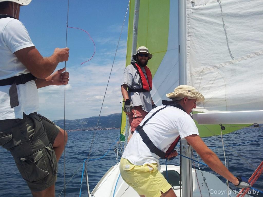 Sejle med Spinnker