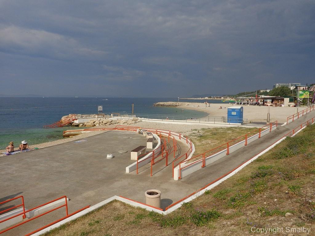 Strand til handicappede Kroatien