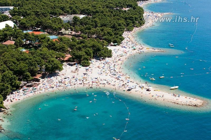 Luftbillede Makarska